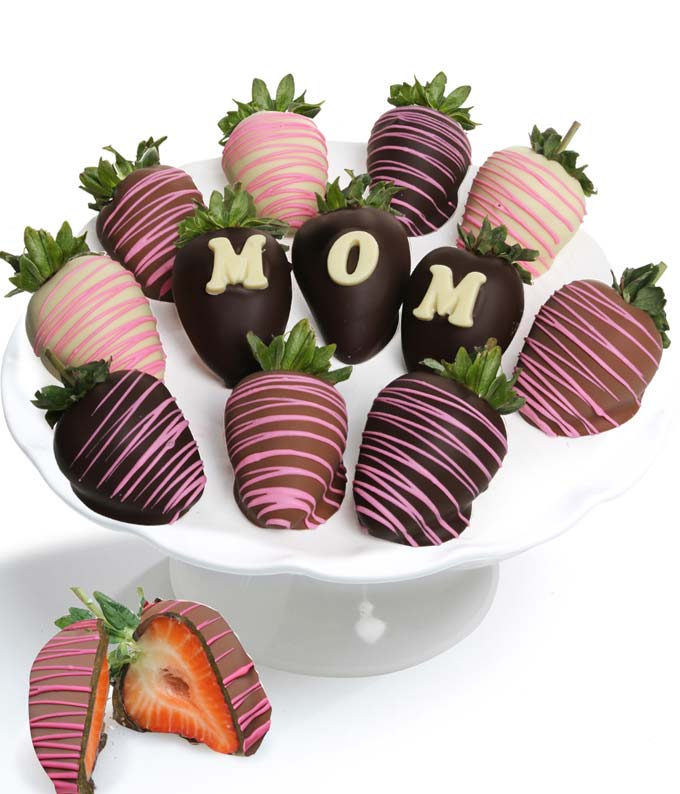 Loving Heart Chocolate Covered Strawberries - 12 Pieces
