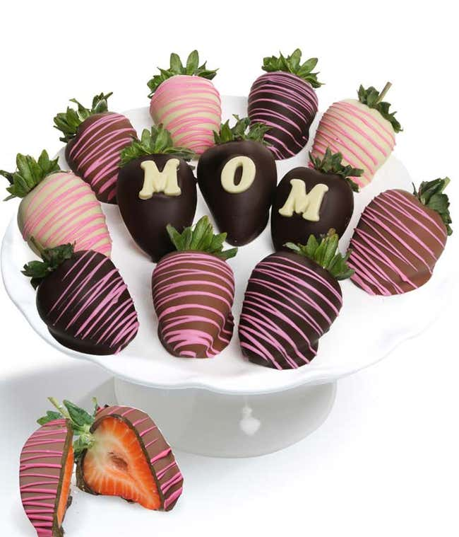 Chocolate covered strawberries for Mom