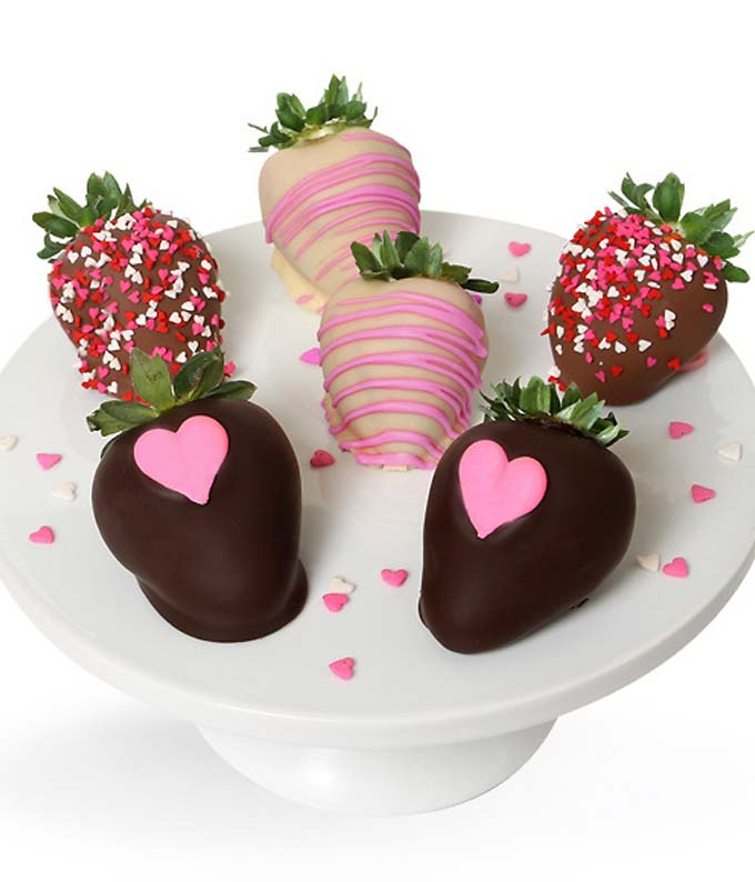 Loving Mother Chocolate Covered Strawberries - 6 Pieces