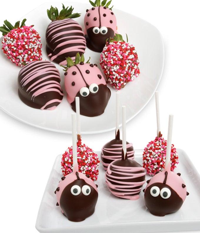 Ladybug Cake Pops...