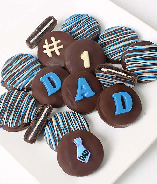 Father's Day Chocolate Covered OREO® Cookies