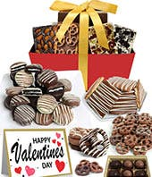 Chocolate Covered Valentine's Day Gift Set