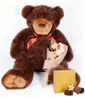 36 Inch Teddy Bear + Godiva Chocolate
