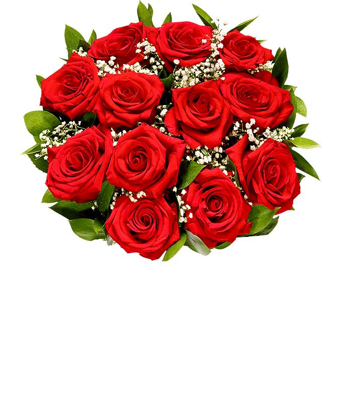 Red roses for Mother's Day