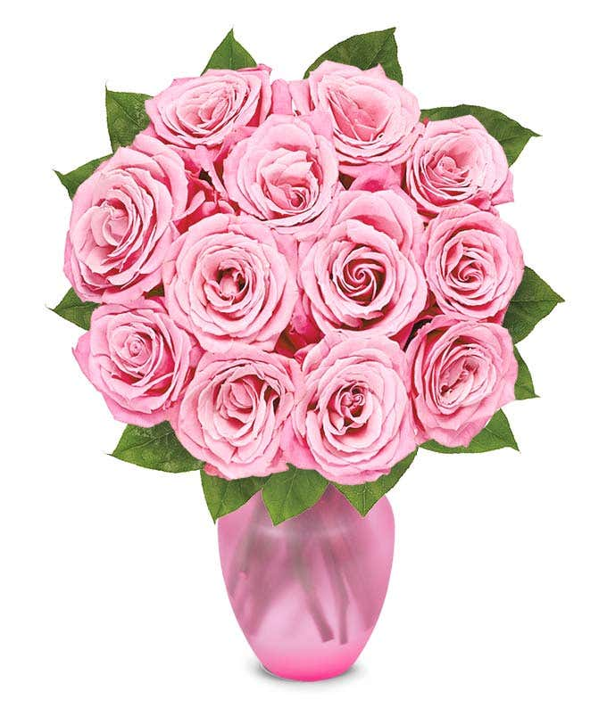 Mother's Day pink roses