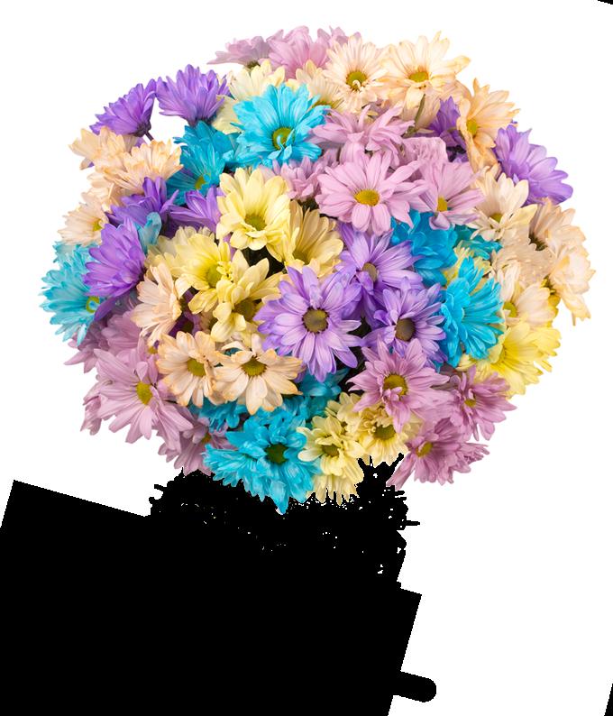 Pom-tastic Pastel Bouquet