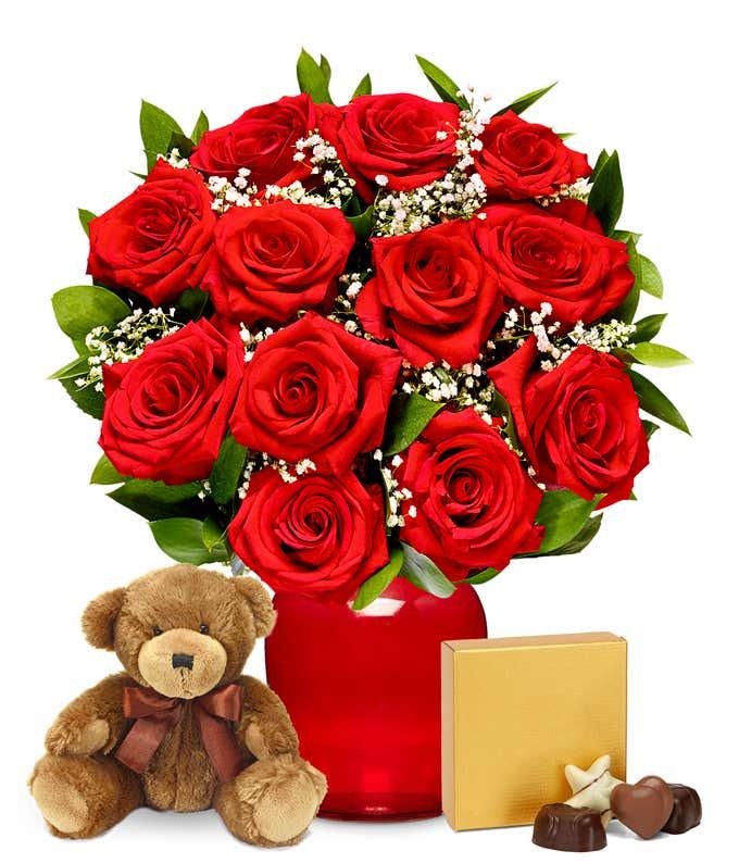 Love Flowers Romantic Flowers Fromyouflowers