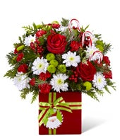 Holiday Present Bouquet