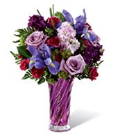 Natural Purple Field Bouquet