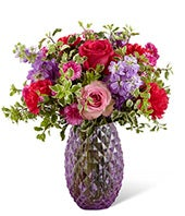 Purple Goddess Bouquet