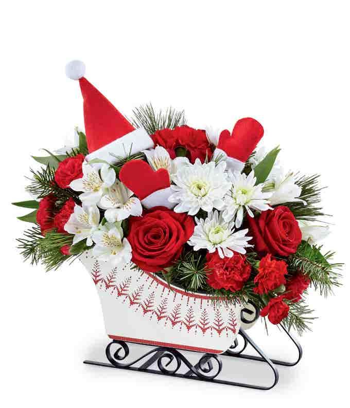 Santa's Sleigh Bouquet