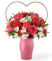 You Captured My Heart Bouquet