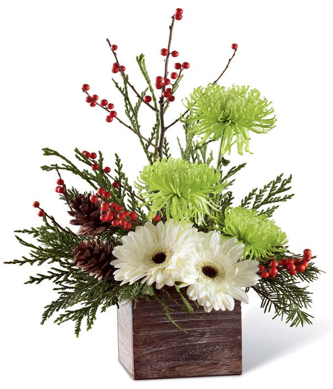 Frosty Pines Bouquet
