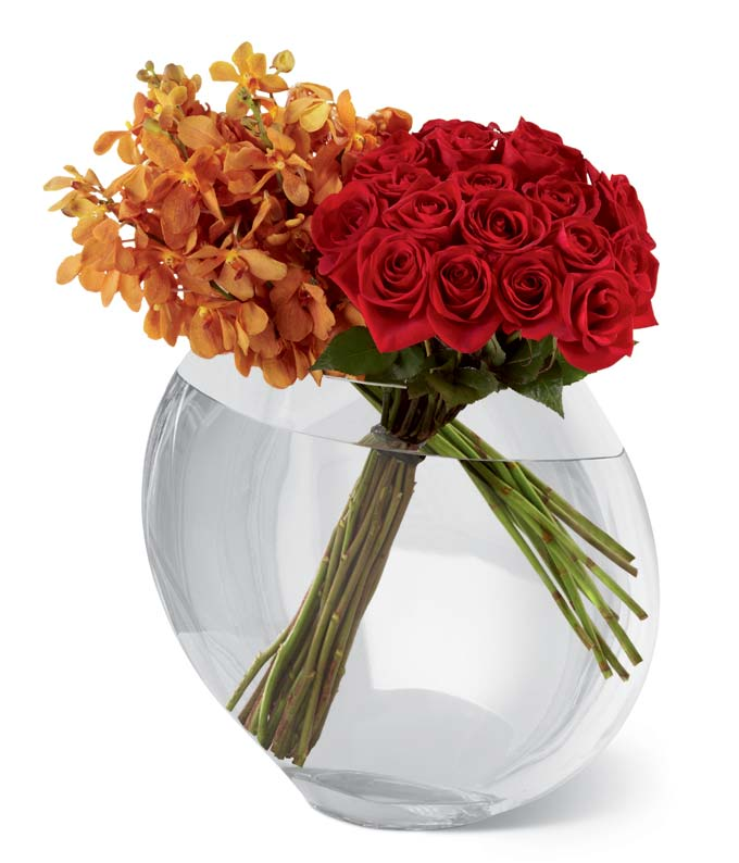 Rose & Orchid Deluxe Arrangement
