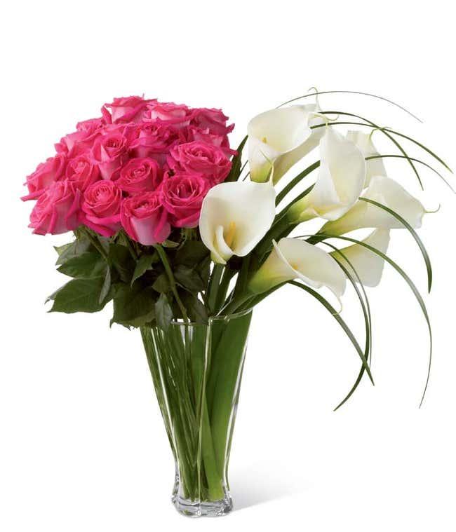 Rose & Calla Lily Wonderland