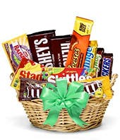 Spring or St. Patrick's Day Gift Basket