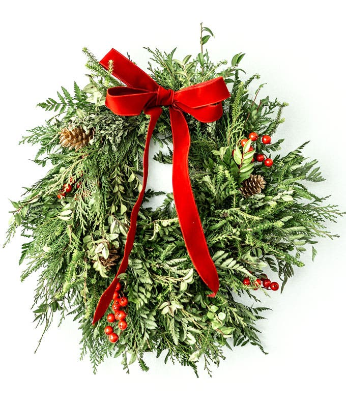 Happy Holiday's Wreath