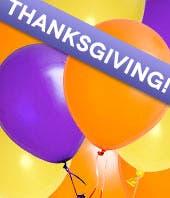 Florist Designed Thanksgiving Balloon Bouquet