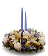 Blue Celebration Centerpiece