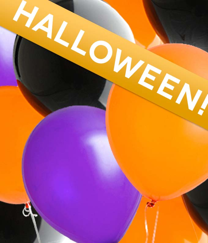 Florist Designed Halloween Balloon Bouquet