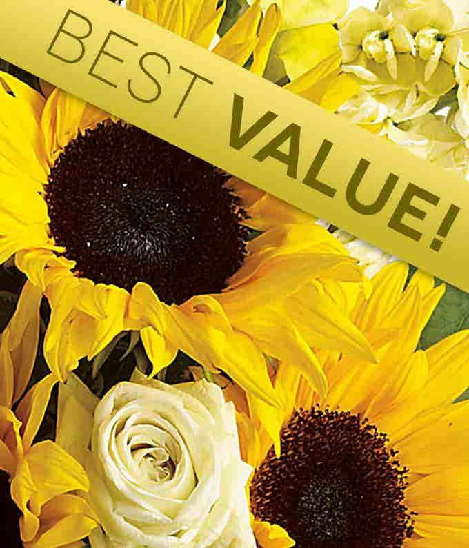 Florist Designed Yellow Mother's Day Bouquet