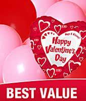 Valentine's Day Balloon Bouquet