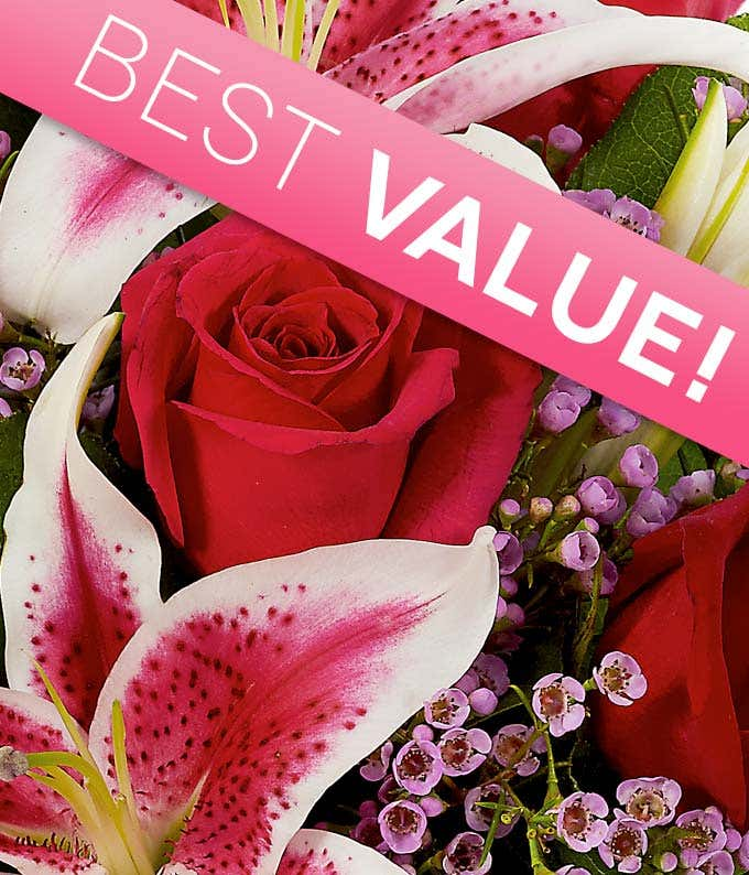 Florist designed Valentine's Day Flowers