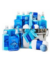 Ocean Breeze Spa Basket