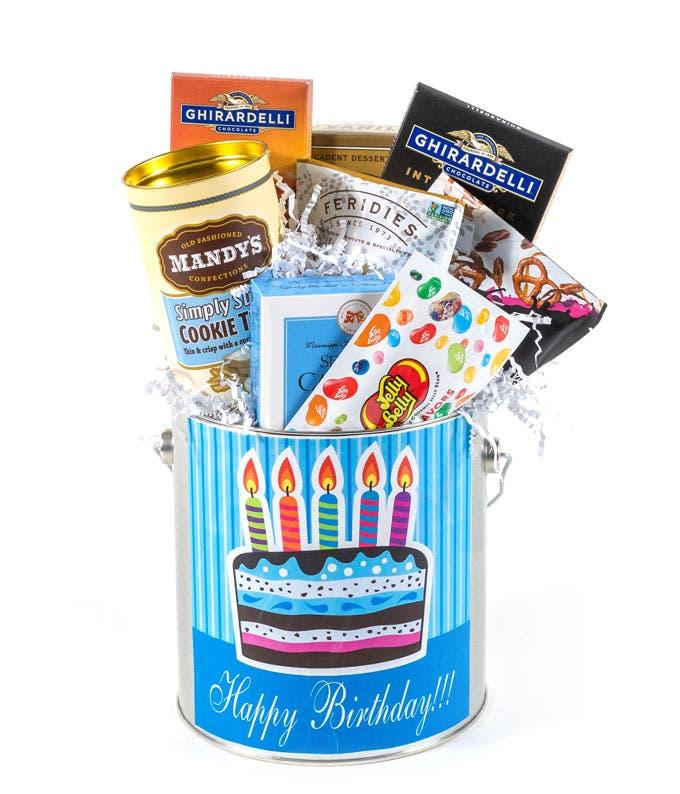 Happy Happy Birthday Candy Tin