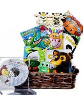 Baby Jungle Books Basket