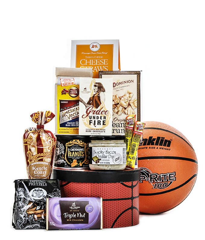 Candy Basket in Basketball Gift Box