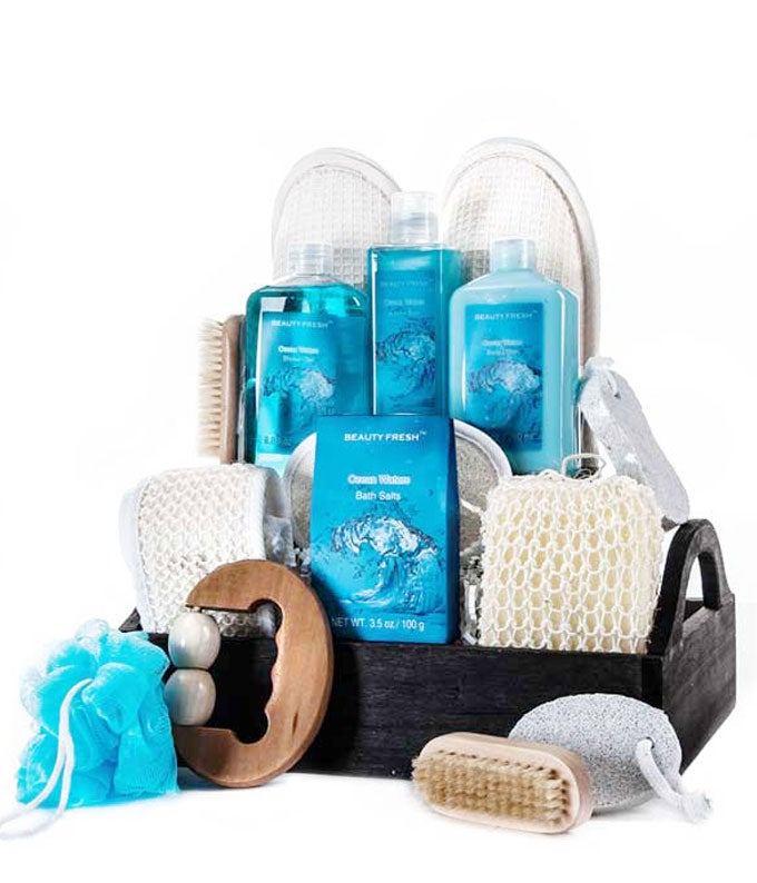 Ocean Waters Delightful Spa Basket