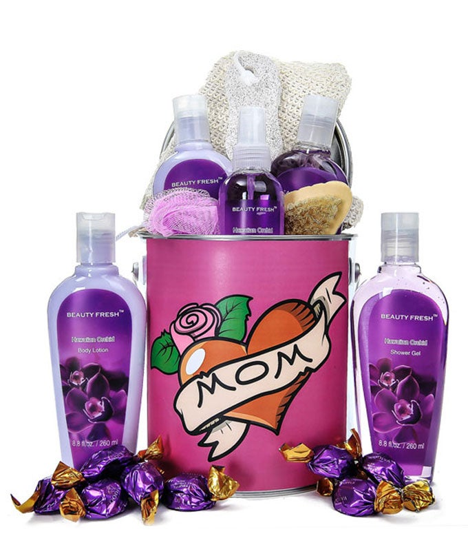 To The Best Mom Spa Gift Basket