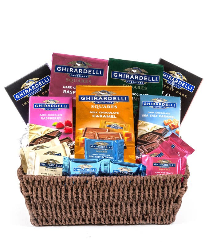 Ghirardelli Chocolate Gift Basket