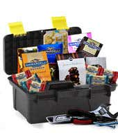 Chocolate Treats delivered in a Toolbox gift basket