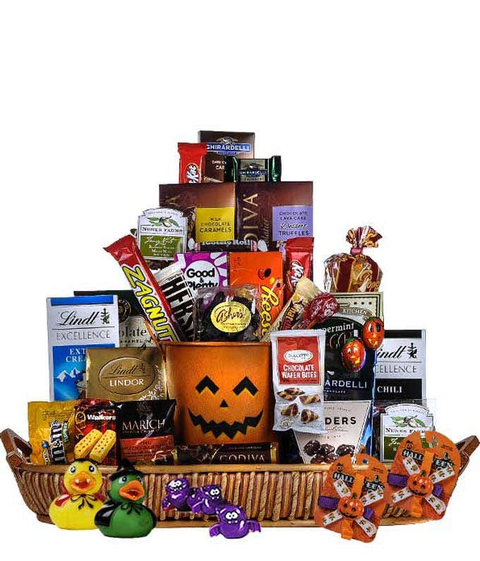 All the treats for Halloween