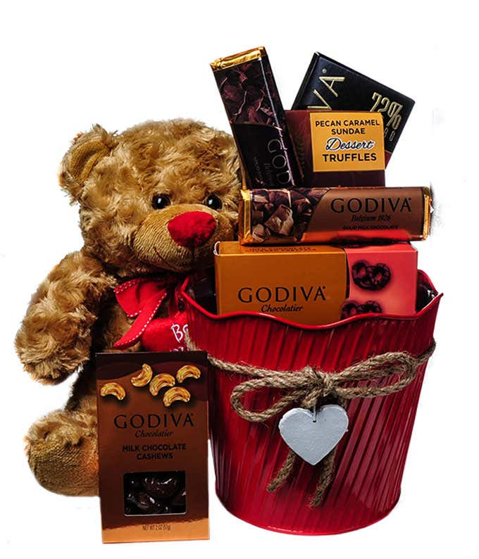 Bearly Love Basket