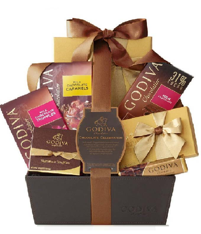 Godiva Chocolate Pure Bliss Gift Basket