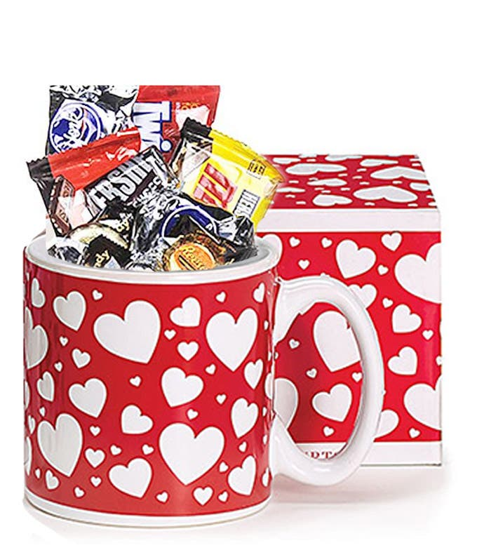 Valentine Monster Candy Mug