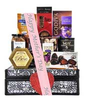 Mother's Day Sweetheart Chocolate Lover Gift Bakset