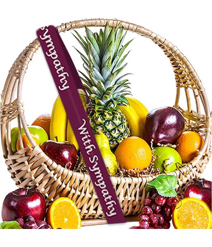 Fruit With Love Sympathy Basket