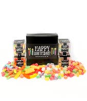 Sunshine, Gumdrops, and Rainbows Birthday Candy Gift Box