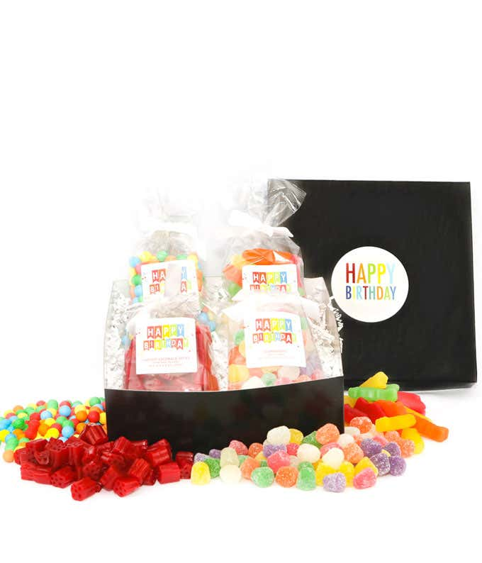 Cosmic Blast Birthday Candy Gift Box