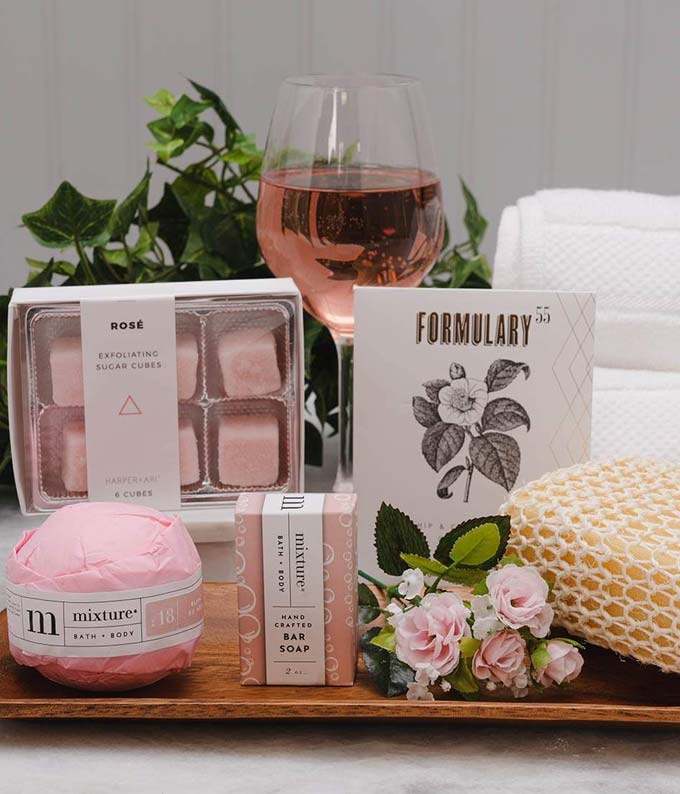 Rosy Rosé Luxury Spa Gift