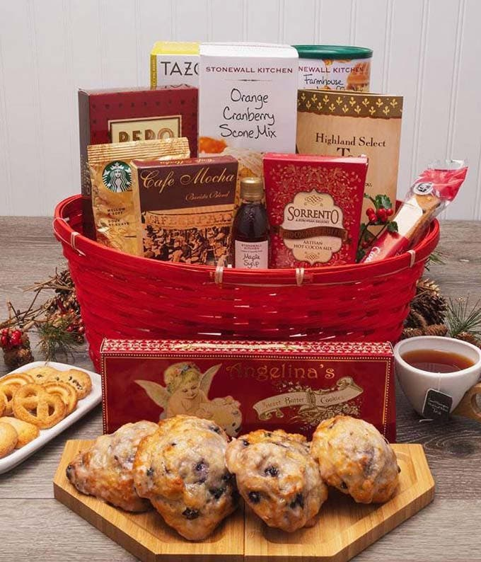 Yuletide Breakfast Basket
