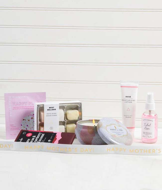 Happy Place For Mother's Day Spa Gift Set