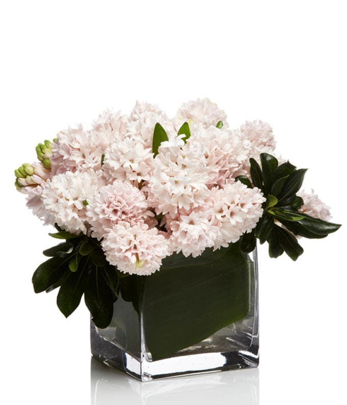 Pink hyacinth bouquet