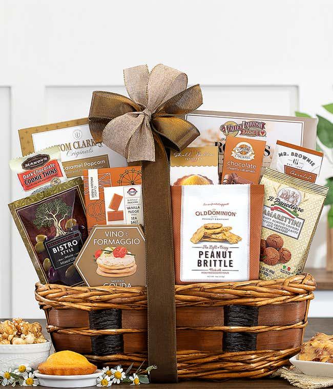 Premier Gourmet Snack Basket