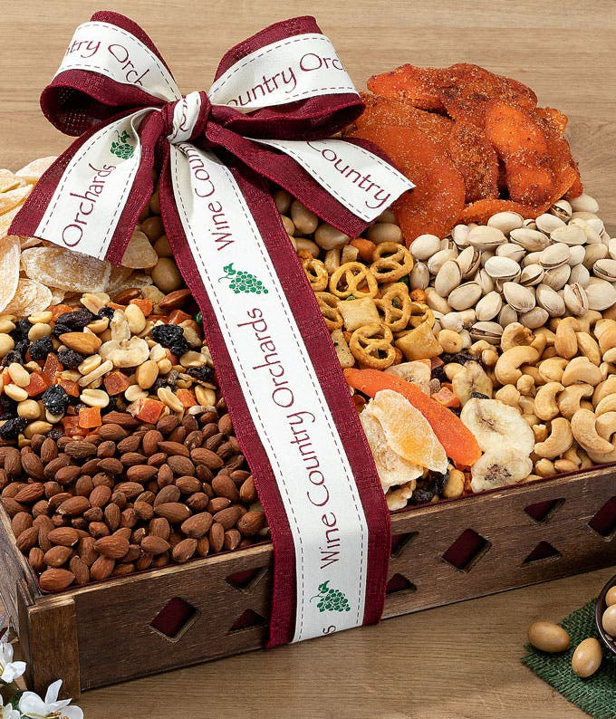 Sweet and Salty Fruit and Nut Tray
