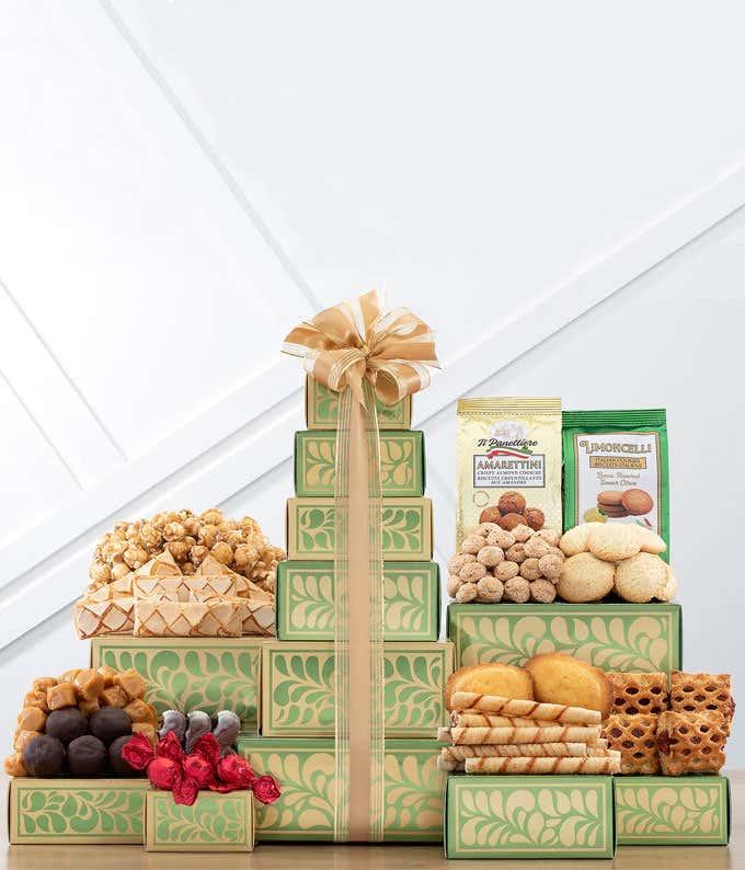 Sweet Harvest Gift Tower